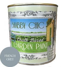 SHABBY CHIC GARDEN PAINT WITH ADDED PROTECTION AGAINST WATER AND MOLD 1 LITRE