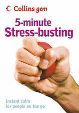 5-Minute Stress-busting (Collins Gem), Hales-Dutton, Vicky, Very Good condition,