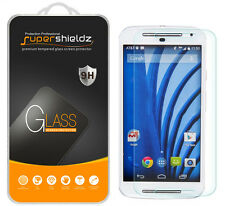 2X Supershieldz Tempered Glass Screen Protector Saver For Motorola Moto G EXT