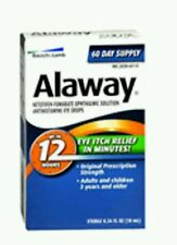 Bausch And Lomb Alaway Eye Itch Relief Drops 10 ml