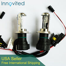 Innovited 35W HID H4-3 9003 12000K Bi xenon Hi/Lo beam HID Replacement Bulbs