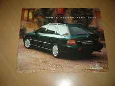CATALOGUE Honda Accord Aero Deck de 1996