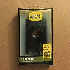New OtterBox Defender Series Case for iPod touch 4G - Black/Coal