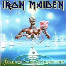 IRON MAIDEN 'SEVENTH SON OF A SEVENTH SON' NEW SEALED RE-ISSUE LP 180 GRAM VINYL