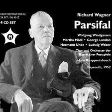 Parsifal - Wagner / Modl / Win (2014, CD NIEUW) Martha Modl/Wolfgang Windgass4 D