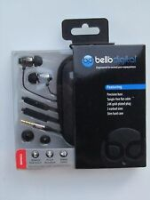 Bell'O Digital BDH653 Precision Bass-Ear Stye Headphone-Line Volume/Microphone