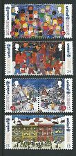 GUERNSEY 1995 CHRISTMAS SET OF 8 IN PAIRS UNMOUNTED MINT. MNH
