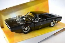 DODGE CHARGER R/T 1970 DOM'S FAST FURIOUS 7 JADA 97059 1:24 DIECAST BLACK