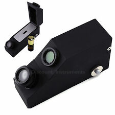 Gemology Gemstone Polarizing Filter Gem Refractometer 1.81 RI Oil built-in LED