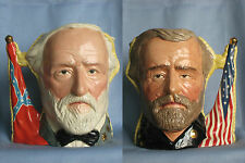 "Royal Doulton US Civil War ""Antagonists"" Character Jug, Generals Grant and Lee"
