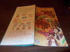 1971 Esso Ontario Vintage Road Map / Nice Cover Graphics by Artist Roger Hill