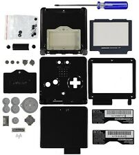 Game Boy Advance SP [GBA SP] Replacement Shell [Black/Onyx]