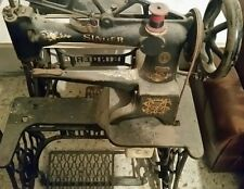 Macchina per cucire antica singer calzolaio