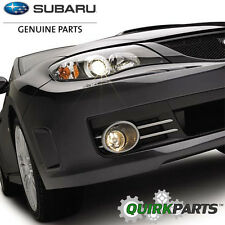 2008-2010 Subaru Impreza WRX STI Fog Light Lamp Kit & Bezels OEM NEW H4510FG030