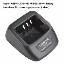 KSC-35 Li-ion Charger Base no power supply for Kenwood TK2212 TK2300 TK2302VK