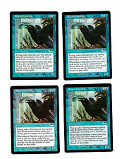 4x Raven Familiar VG/EX Urza's Legacy Mtg Magic Commander EDH 4x x4