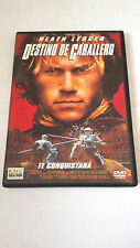 "DVD ""DESTINO DE CABALLERO""HEATH LEDGER BRIAN HELGELAND"