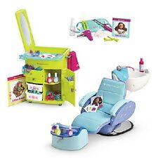 American Girl SALON SET hair salon SPA CHAIR styling SET for Isabelle Doll bonus