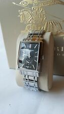 Brand New  Burberry Heritage Collection Rectangular Dial  Womens Watch  BU1321
