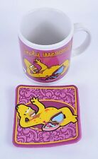 50X Homer Simpsons Mugs & Coaster Ceramic Porcelain Tea Cups Joblot Wholesale