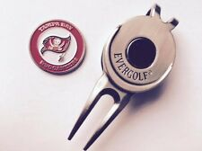 NFL Tampa Bay Bucs Golf Ball Marker and Magnetic Divot Tool
