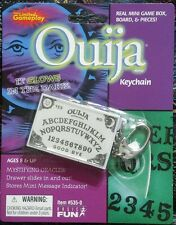 OUIJA BOARD Mini Glow in the Dark Game Keychain Keyring by Basic Fun NEW Retired