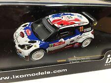 CITROEN DS3 WRC #22 MONTE CARLO 2013 1:43 IXO RALLYE-DIECAST-RAM544