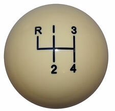 Ivory 4 Speed Shift Knob 3/8-24 thread U.S. Made