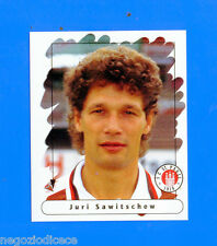 FUSSBALL BUNDESLIGA 1995-96 Figurina Sticker n. 169 - SAWITSCHEW - ST.PAULI -New