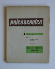 Palcoscenico 1947 Anton Giulio Bragaglia Futurismo Maria Melato Anna Magnani