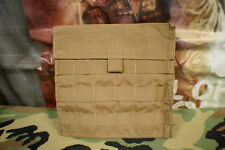 MOLLE II LB VEST ADD ON ARMOR PLATE / MAP / UTILITY POUCH COYOTE BROWN BRAND NEW