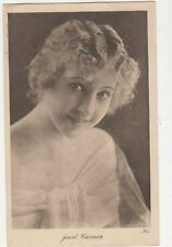 Jewel Carmen Actress Vintage Plain Back Photo Card 465a