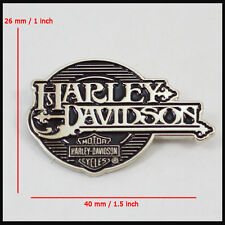 Metal Emblem / Medallion For Harley Davidson Tank / Fender Shield Art Chrome