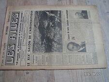 """1µ?  Revue Les Ailes """"Monde Aviation"""" n°1324 Siege ejectable SNCAS Vickers 660"""
