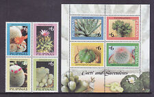 Philippines Stamps 2003 MNH Cactus complete set