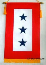 3 Blue Star Service Banner Free Ship Quality Window Flag Mom US Military Gift