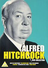 Alfred Hitchcock 6 FILM Signature DVD Collection Dial M For Murder, Stage Fright