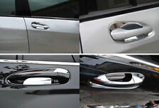 4Pcs Chrome Side Door Handle Bowl Cover Trim for Mercedes Benz W204 08-12