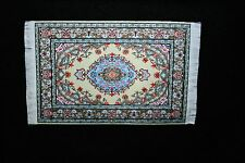 DOLLHOUSE MINIATURE MIXED  COLORED RUG