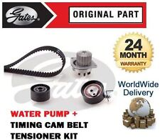 FOR PEUGEOT PARTNER 1.6 16V 2008--  TIMING CAM BELT TENSIONER KIT + WATER PUMP