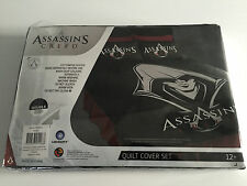 Brand New In Packet Double Bed Size Ubisoft Assassin's Creed Quilt Cover Set