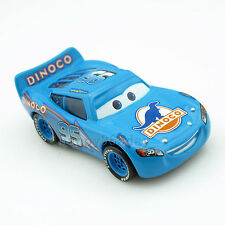 Disney Pixar 1:55 Cars NO.95 Blue Dinoco Lightning McQueen Diecast Metal Car