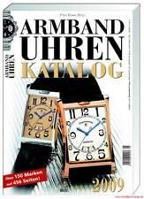 Fachbuch Armbanduhren Katalog 2009 über 1.200 Uhren über 150 Marken, REDUZIERT