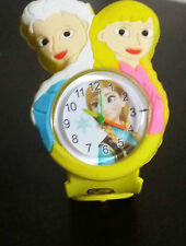 New Yellow Stylish Frozen Kids wrist watch for girls