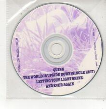 (FQ919) Quinn, The World Is Upside Down - 2006 DJ CD