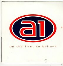 (FI974) A1, Be The First To Believe - 1999 DJ CD