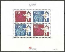 Portugal - Entdeckungen u. Erfindungen Bl.99 postfrisch 1994 Mi. 2010-2011