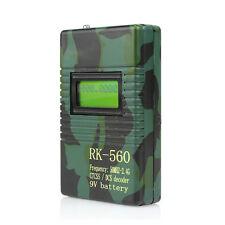 RK560 50MHZ-2400MHz Contatore di frequenza CTCSS/DCS decodificatore per Radio