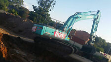 SYDNEY MACHINERY HIRE - 36 TONNE SITE EQUIPPED EXCAVATOR FOR DRY HIRE