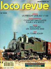 LOCO REVUE 533 DE 1991. COLLECTION, PMP SE DISTINGUE
